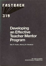 Developing an Effective Teacher Mentor Program